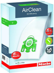 Miele Type-U AirClean 3D Efficiency FilterBags