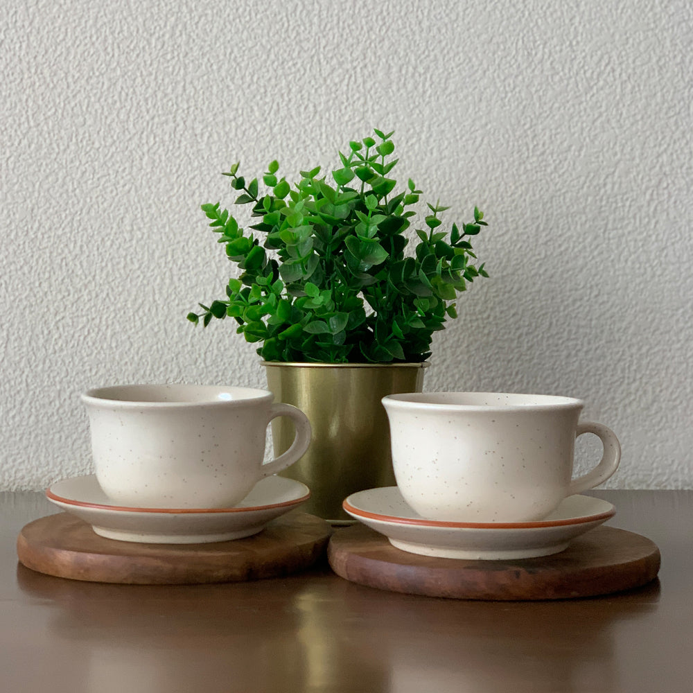 Cappuccino Cups - Set of Two