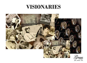 Visionaries - Grace on Design Decoupage Paper
