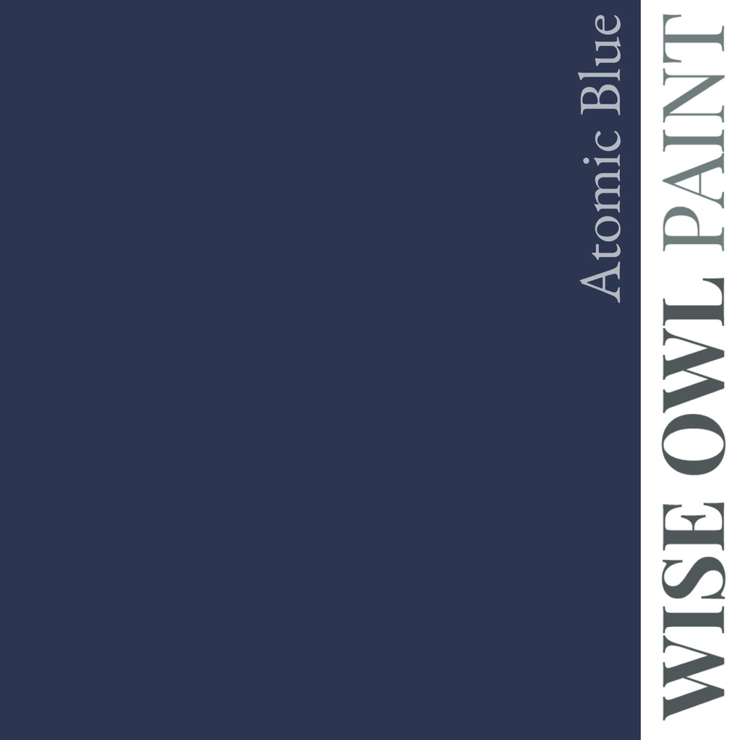Wise Owl Chalk Snythesis Paint- Atomic Blue