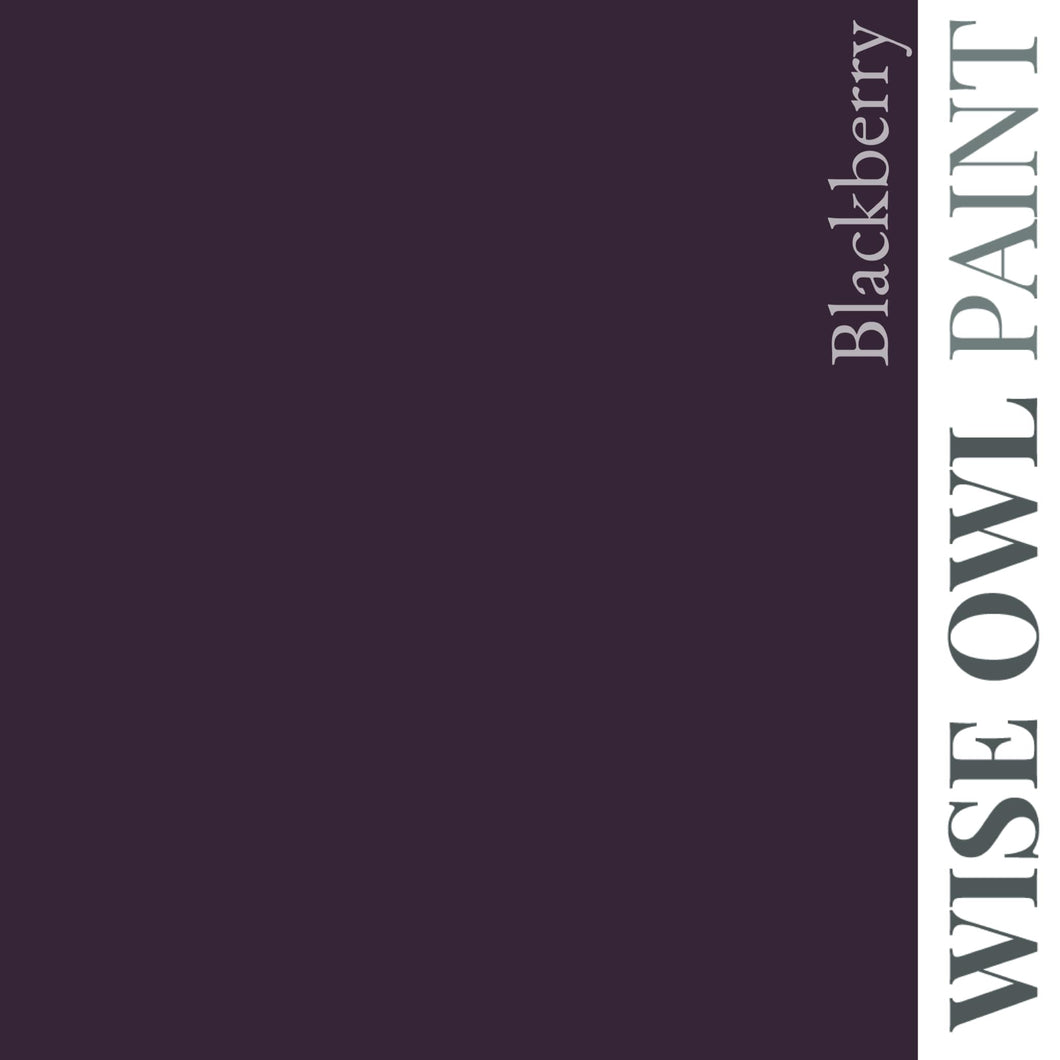 Wise Owl Chalk Synthesis Paint - Blackberry
