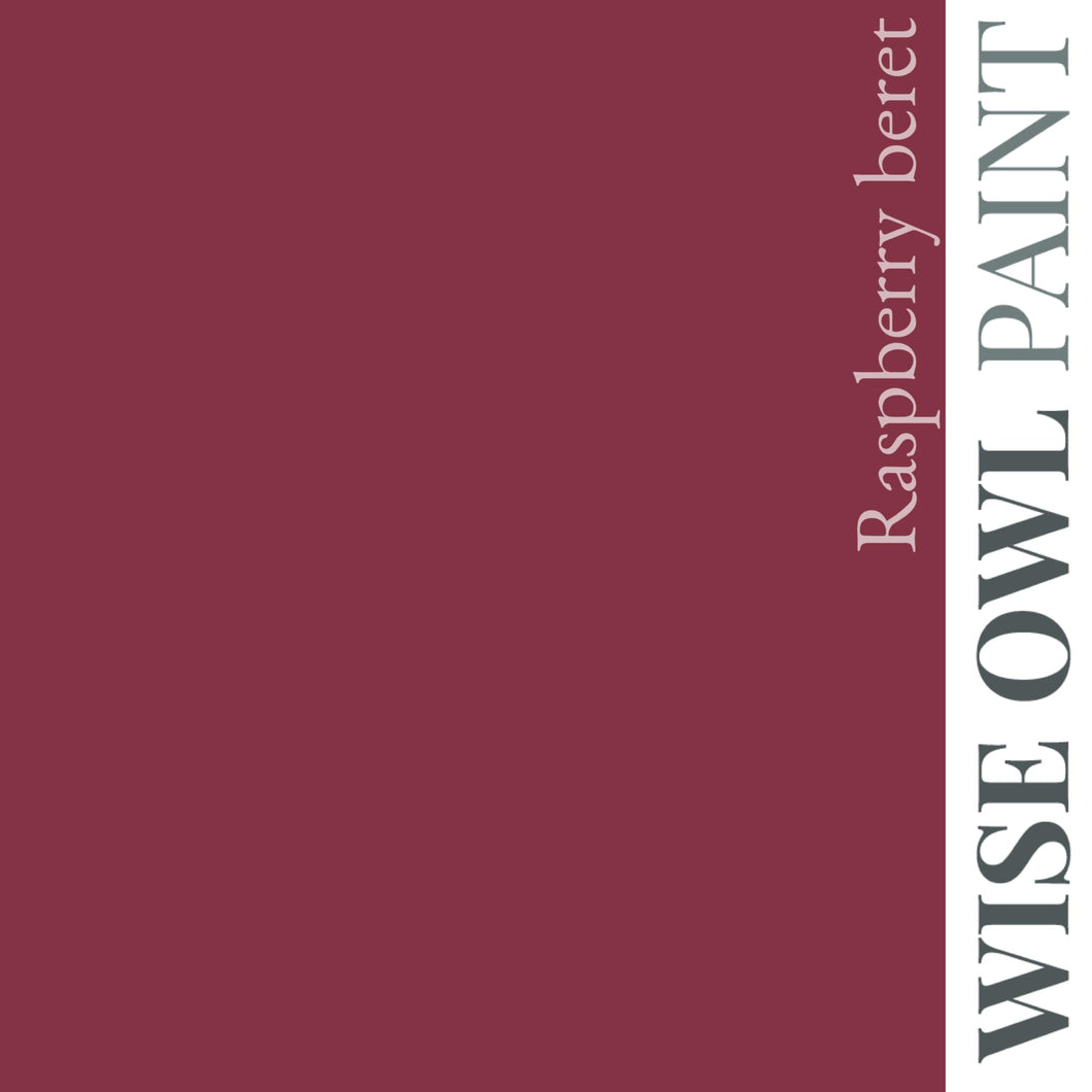 Wise Owl Chalk Synthesis Paint - Raspberry Beret