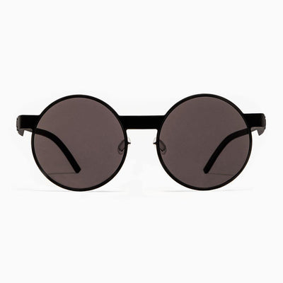 #2.1 Round Black Sunglasses The No. 2 Eyewear