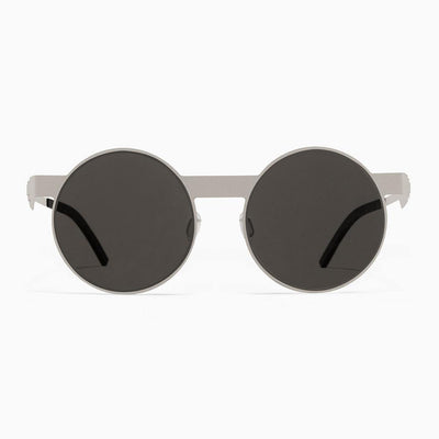 #2.1 Round Silver Sunglasses The No. 2 Eyewear