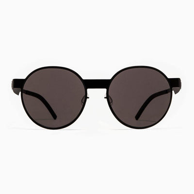 #2.2 Oval Black Sunglasses The No. 2 Eyewear