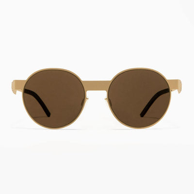 #2.2 Oval Gold Sunglasses The No. 2 Eyewear