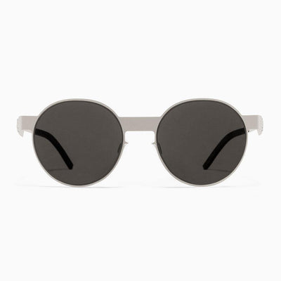 #2.2 Oval Silver Sunglasses The No. 2 Eyewear
