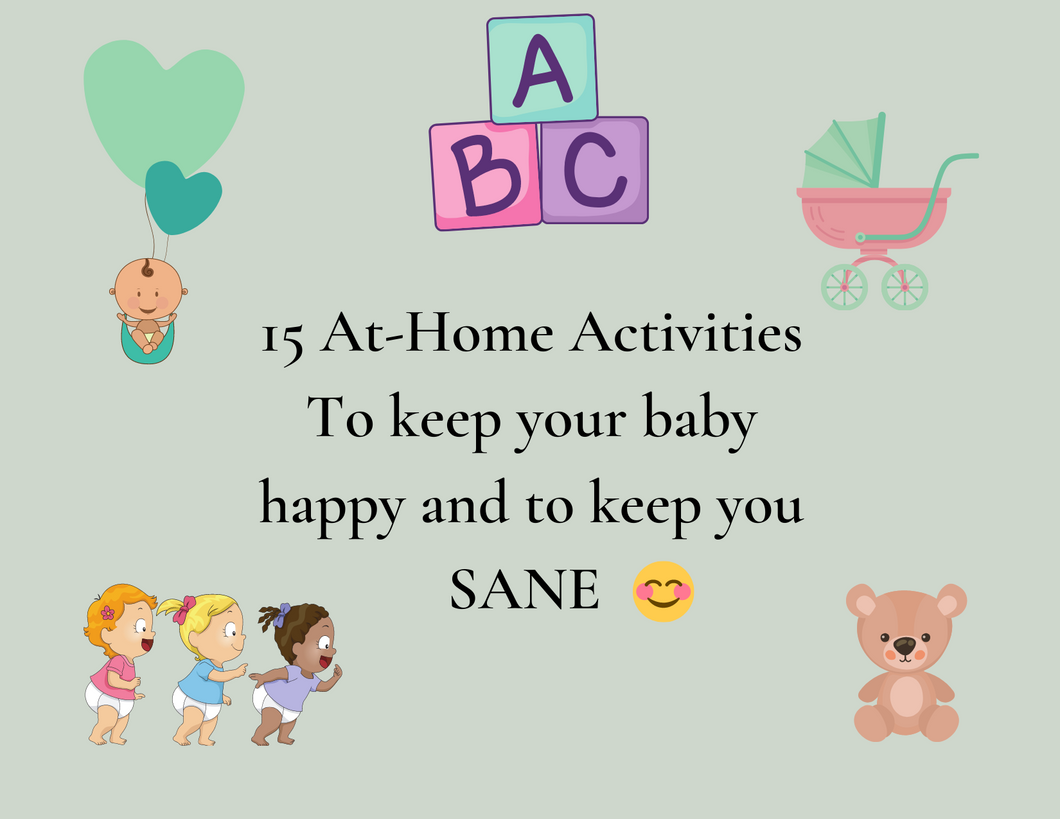 Indoor Baby Activity Cards