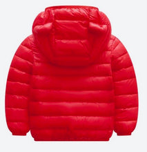 Load image into Gallery viewer, Red Puffer Coat