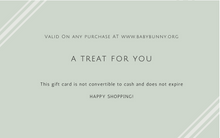 Load image into Gallery viewer, Baby Bunny Boutique Gift Card