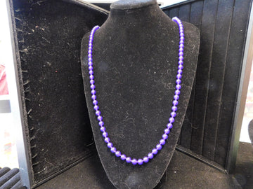 Amethyst Bead Necklace
