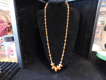 Baltic  Amber with Citrine Necklace