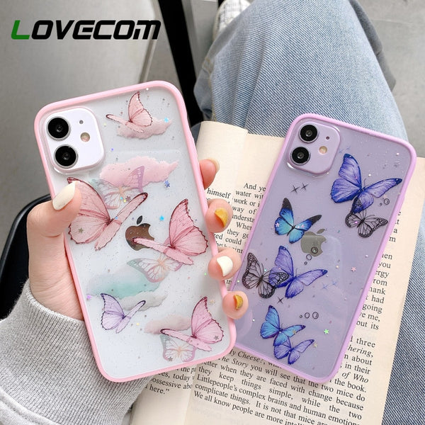 Butterfly Candy Glitter Phone Case