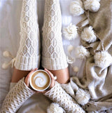Knitted Thigh Stockings
