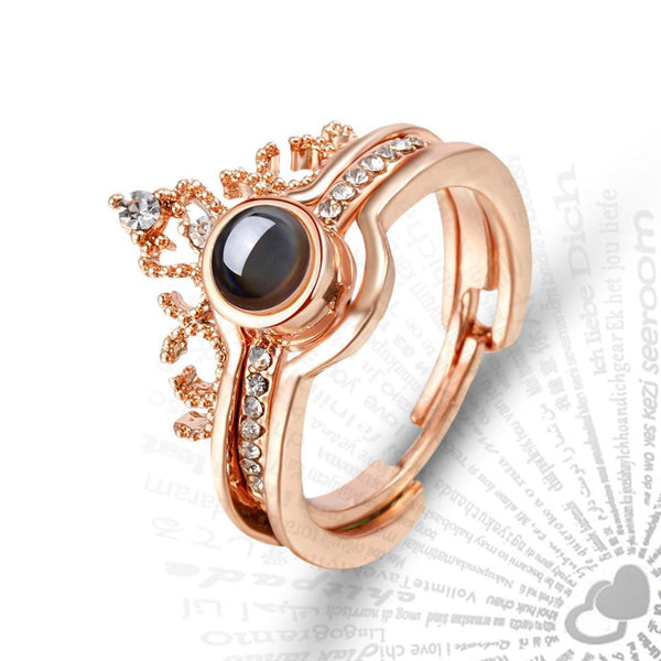 Lover's Projection Ring