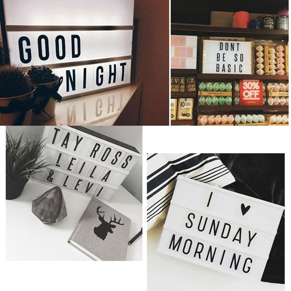 Message Light Box