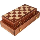 Traditional Walnut Chessboard