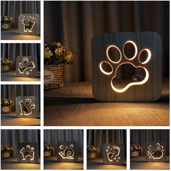 Wooden Novelty Paw