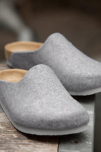 Load image into Gallery viewer, BIRKENSTOCK Amsterdam Light Grey