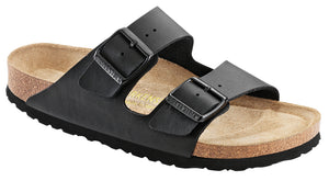 BIRKENSTOCK Arizona Black BF Softbed Slides