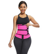 Sweat Double belt Workout Waist Trainer