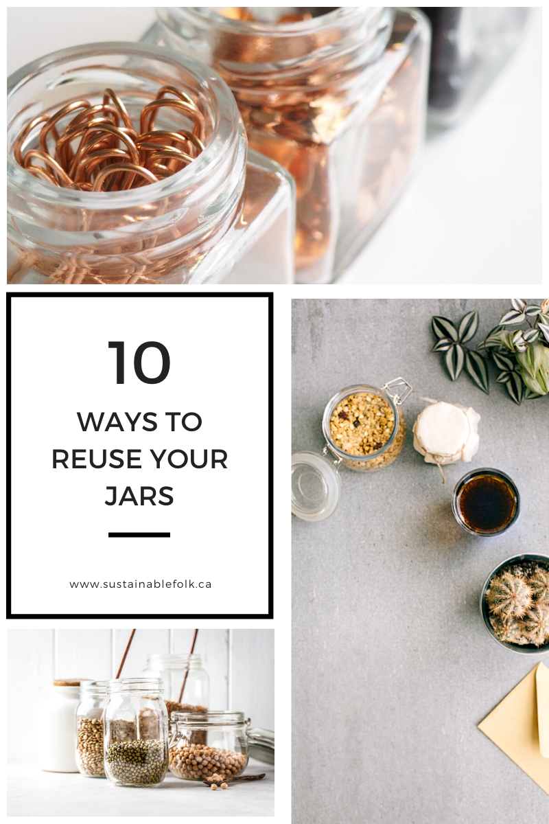 10 Ways To Reuse Your Jars