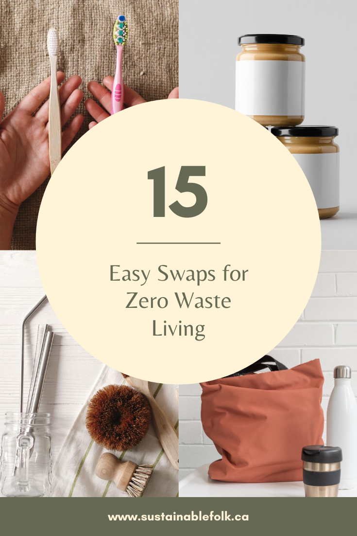 15 Easy Swaps For Zero Waste Living