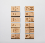 Load image into Gallery viewer, Wooden Number Puzzle