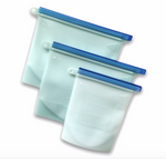 Load image into Gallery viewer, Silicone Food Storage Bags (3 Pack)