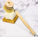 Load image into Gallery viewer, Sisal Kitchen Brush
