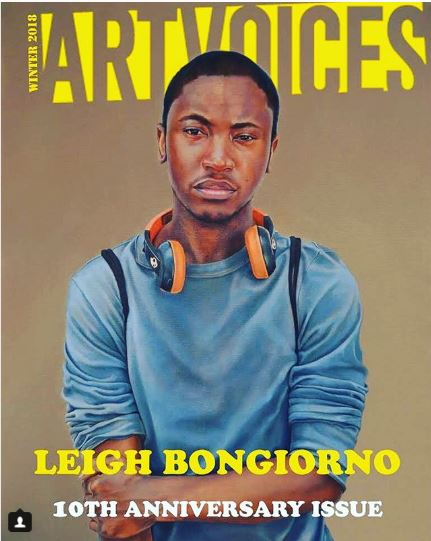 Leigh Brooklyn Featured on Cover of Artvoices Magazine 10th Anniversary Issue