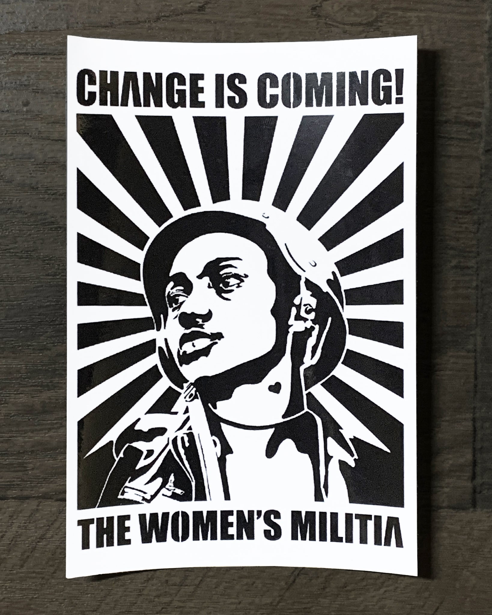 Change is Coming Sticker by Leigh Brooklyn
