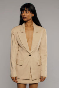 Tencel Beige Jacket