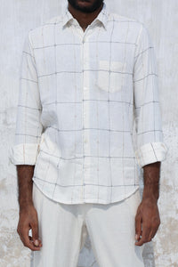 Eclair Cotton White Shirt