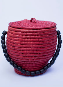 Girbi Pot Bag Red