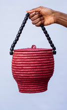Load image into Gallery viewer, Girbi Pot Bag Red