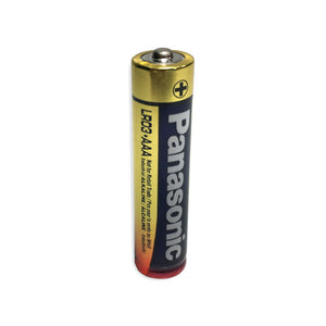 Panasonic Battery AM4 AAA Alkaline Battery Bulk (LR03XWA/2SB) (Priced Individually, sold in packs of 2)