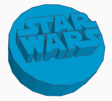 Load image into Gallery viewer, Star Wars Logo Game Counter