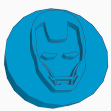 Load image into Gallery viewer, Iron Man Helmet Game Counter