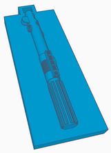 Load image into Gallery viewer, Anakin Skywalker Lightsaber Keychain