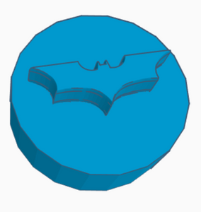 Batman Logo Game Counter