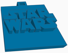 Load image into Gallery viewer, Star Wars Logo Keychain