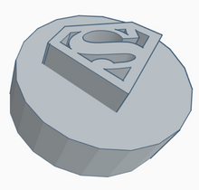 Load image into Gallery viewer, Superman Logo Game Counter