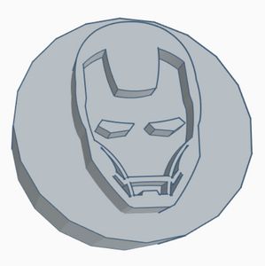 Iron Man Helmet Game Counter