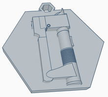 Load image into Gallery viewer, Ezra Bridger Lightsaber Keychain