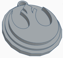 Load image into Gallery viewer, Rebel Alliance Logo Keychain