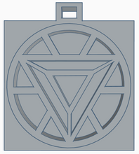 Load image into Gallery viewer, Iron Man Arc Reactor Keychain