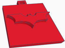 Load image into Gallery viewer, Batman Logo Keychain
