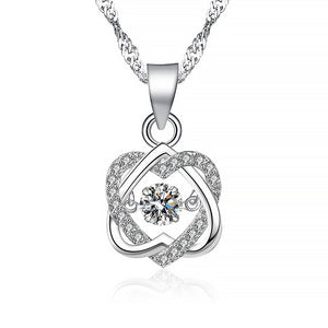 Topaz Pendant Necklace Set Sterling Silver 2.75 Carats