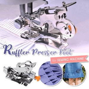 The Ruffler Sewing Foot
